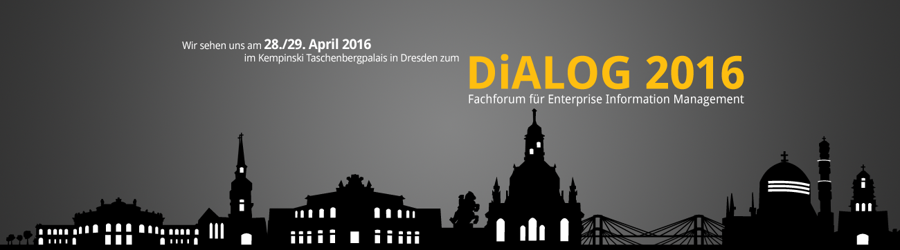 DiALOG Award Enterprise Information Management Digitale Transformation