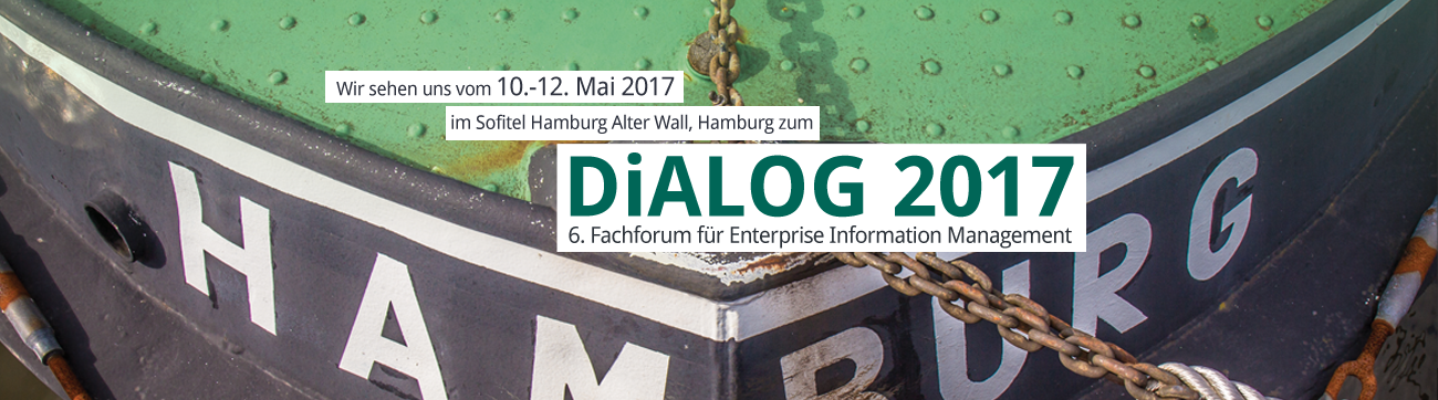 DiALOG 2017, Fachforum für Enterprise Information Management