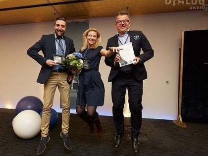"StratOz Finalist beim DiALOG-Award 2016 ""Excellence with EIM"""
